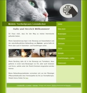 screenshot www.tierheilpraxis-wuppertal.de