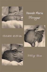 Hannah Marie 03.10.2010